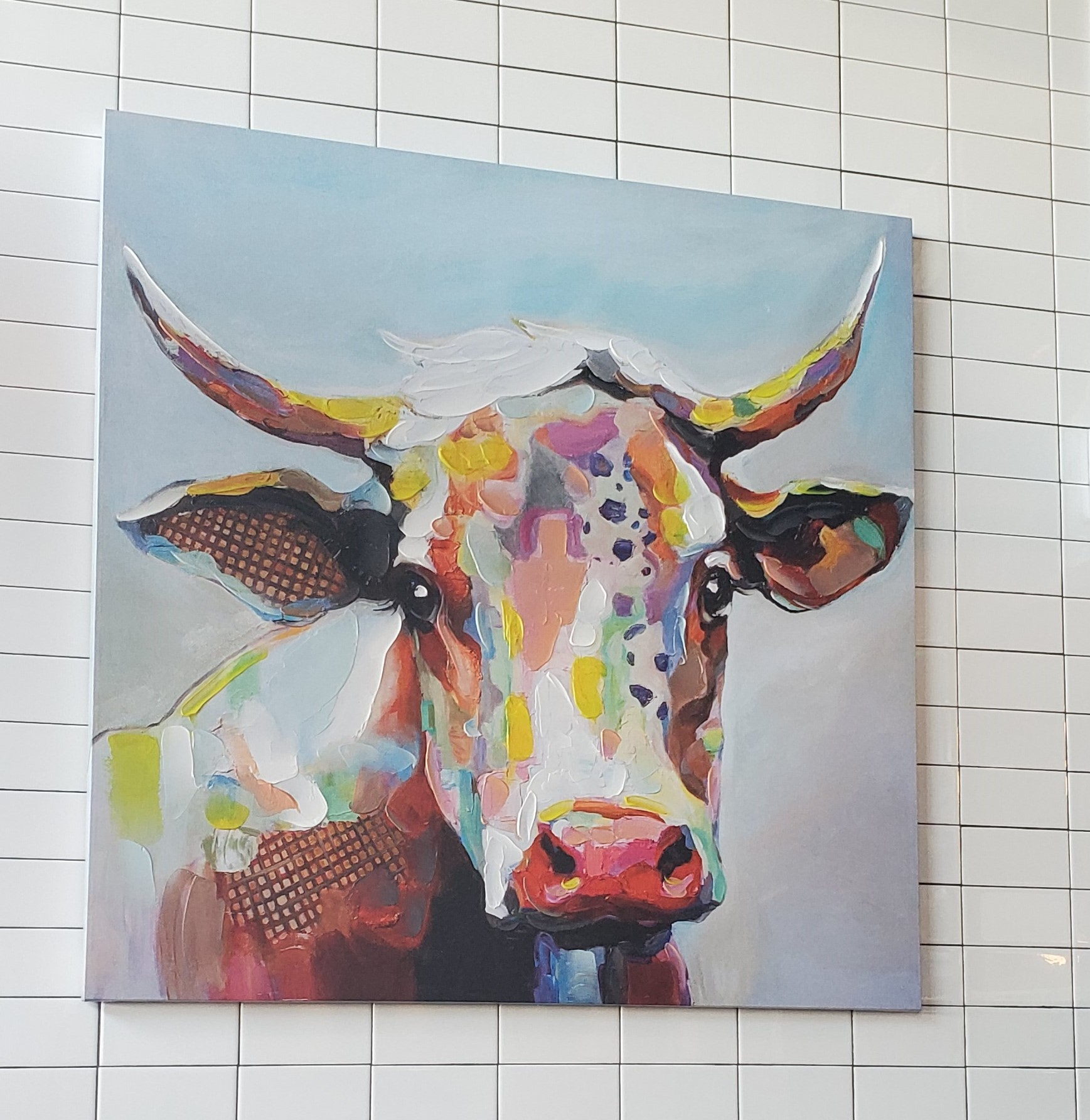 DIG Scottsdale OEB Breakfast Co eclectic art cow